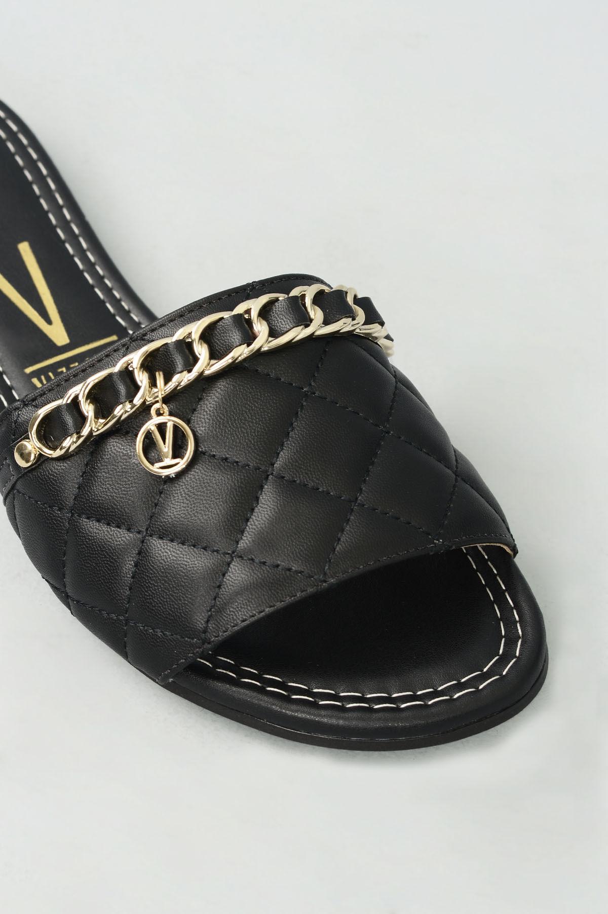 b1b189bc19 Chinelo Feminino Késia Vizzano SINT - PRETO - Mundial Calçados