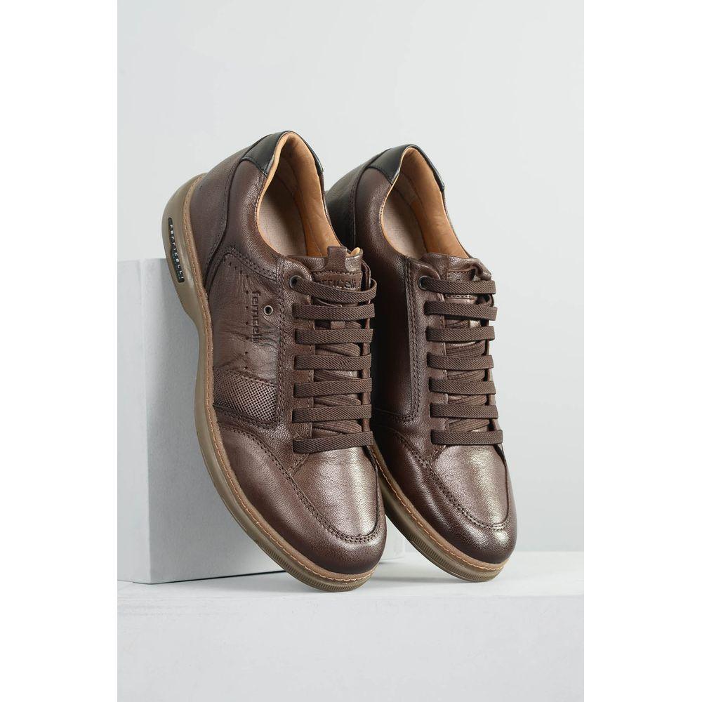 Mundial Calçados  Masculino  Sapatênis · Casual ·  1 Sapatenis Masculino Ferricelli Bruno CR MARROM 0358af675a4e3