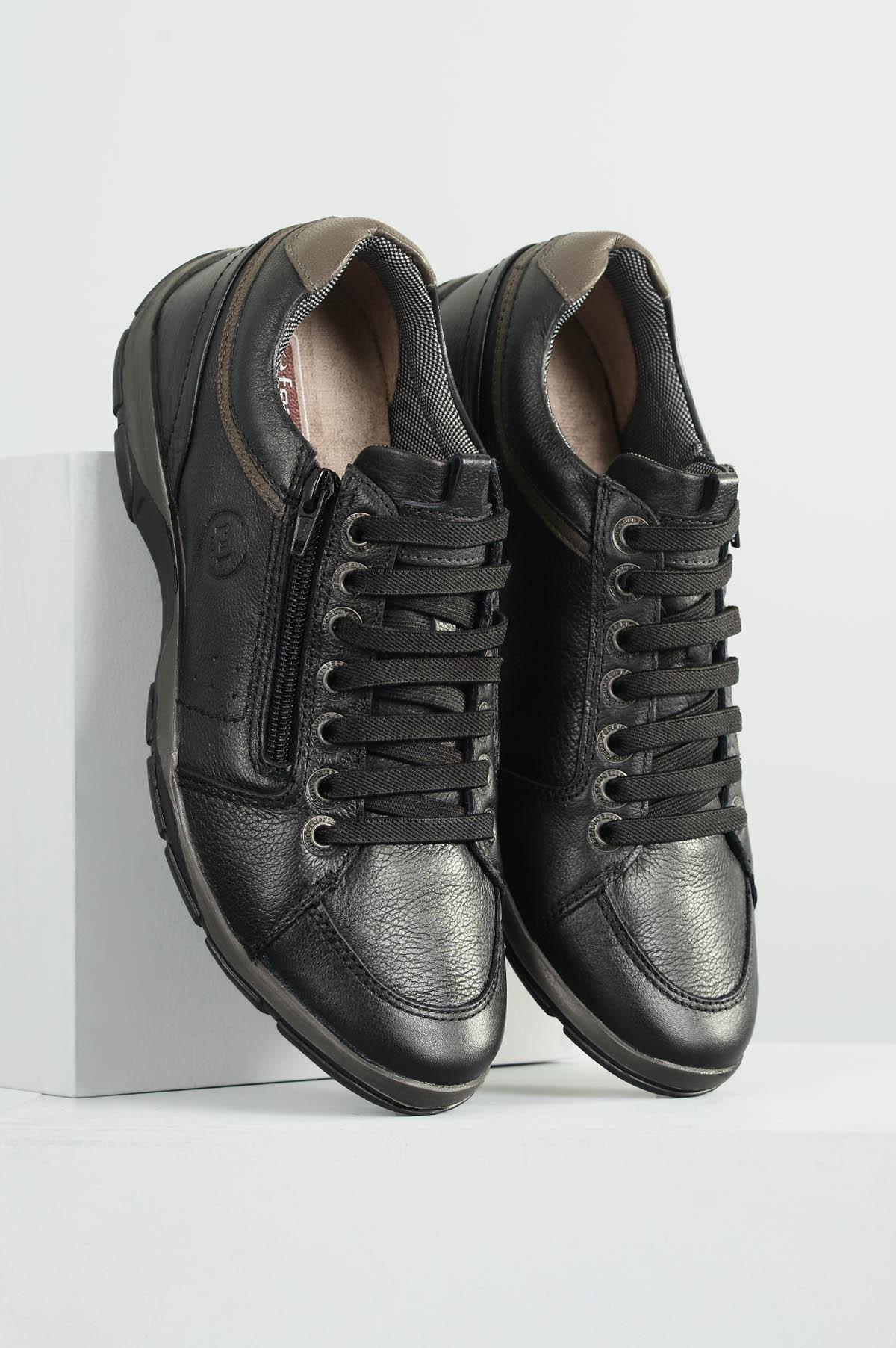 2a7d6633910d4 Sapatênis Masculino Ferricelli Leonardo CR-PRETO - Mundial Calçados
