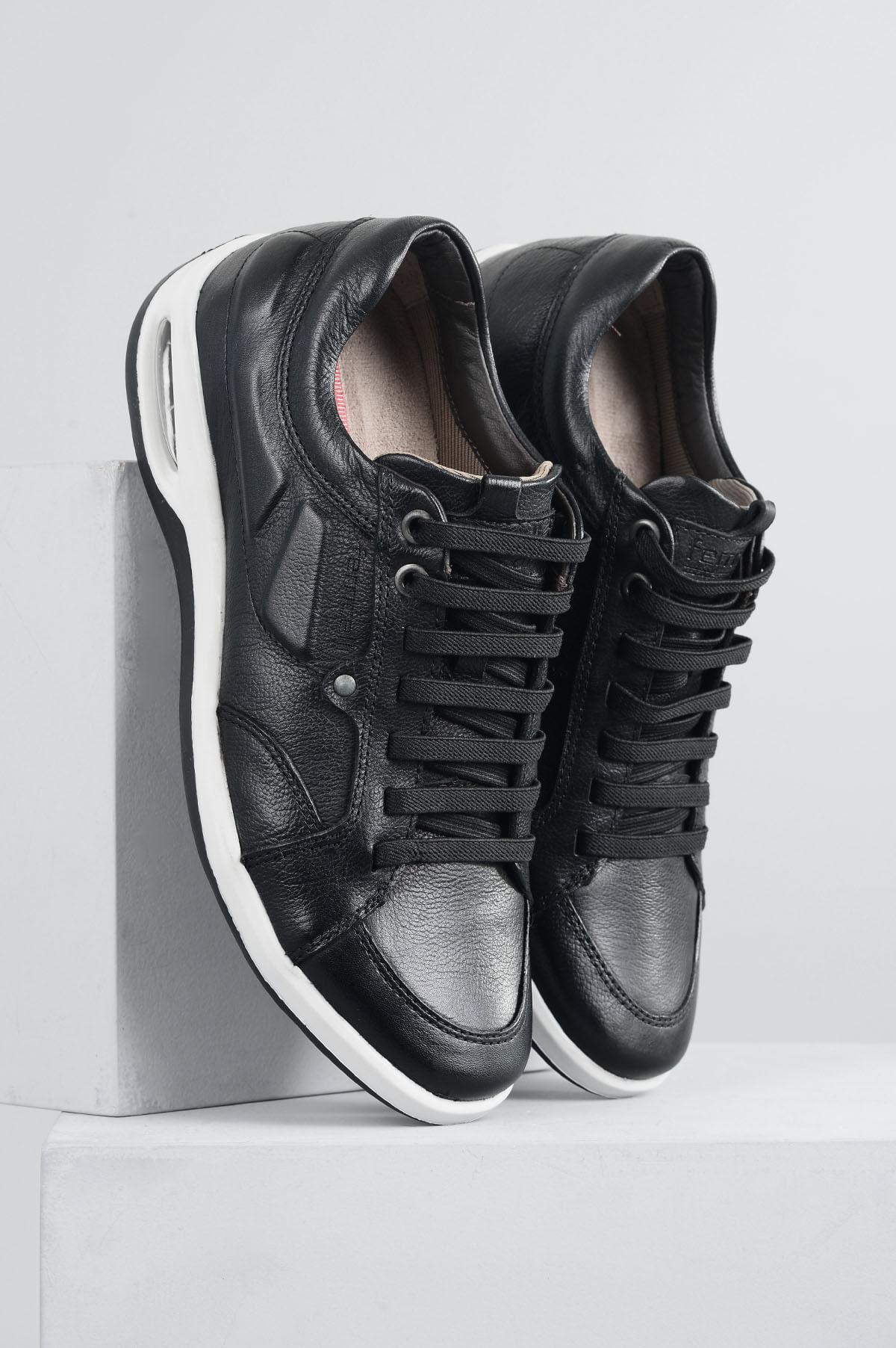 3c3b8da2e Sapatênis Masculino Ferricelli Patrick CR-PRETO - Mundial Calçados