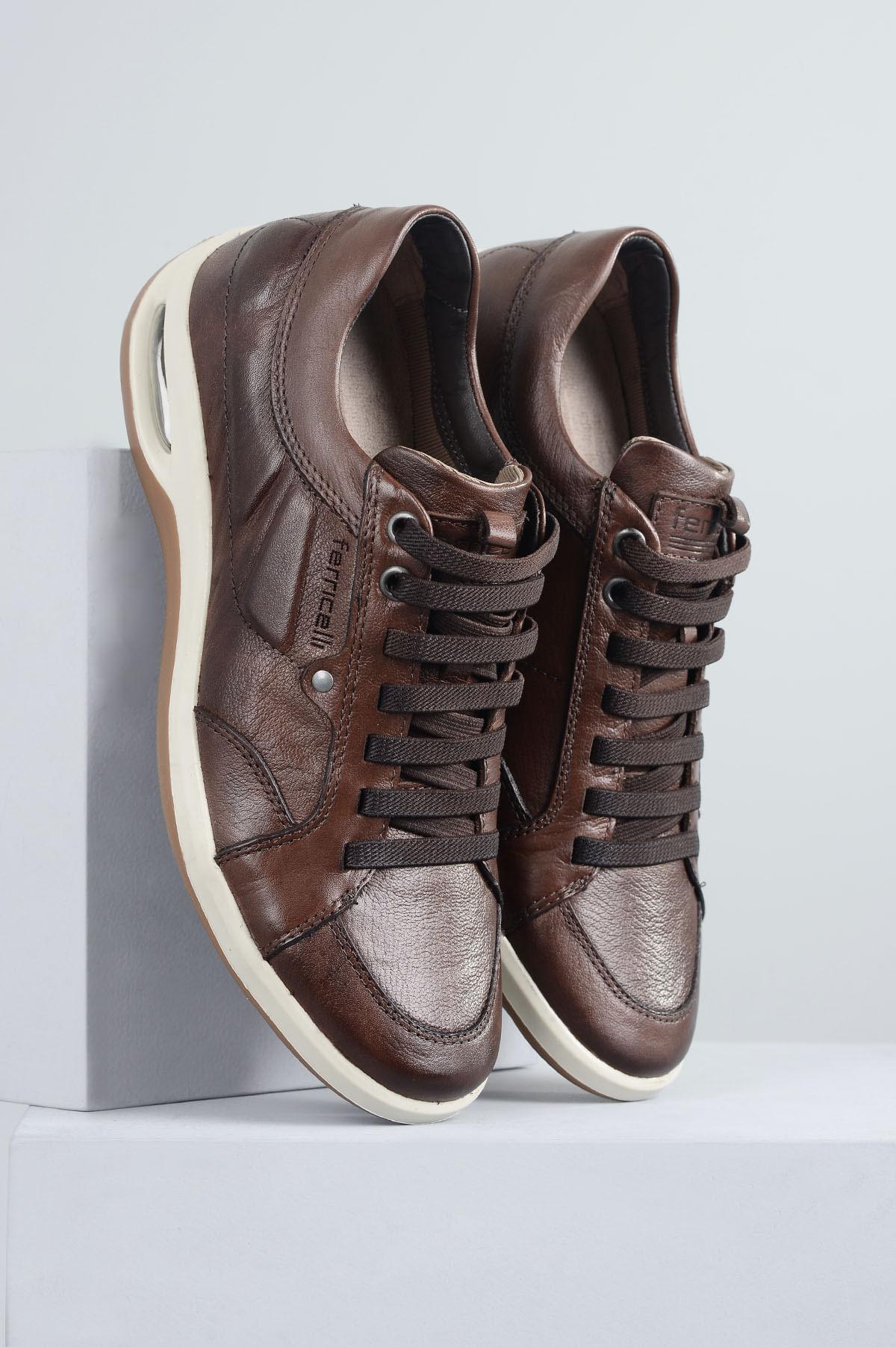 589011f27 Sapatênis Masculino Ferricelli Patrick CR TAN - Mundial Calçados