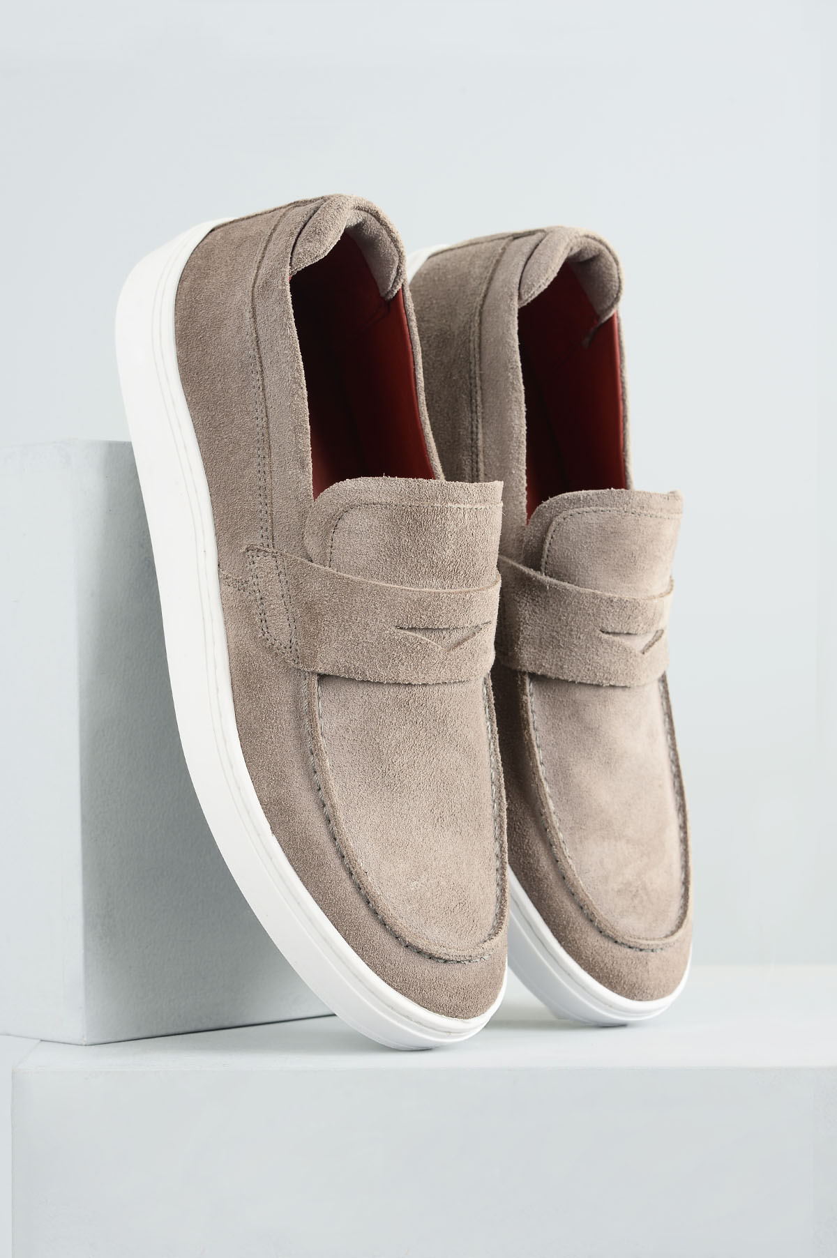 3d402d581 Sapatênis Masculino Marcelo Mundial CAMURÇA CINZA - Mundial Calçados