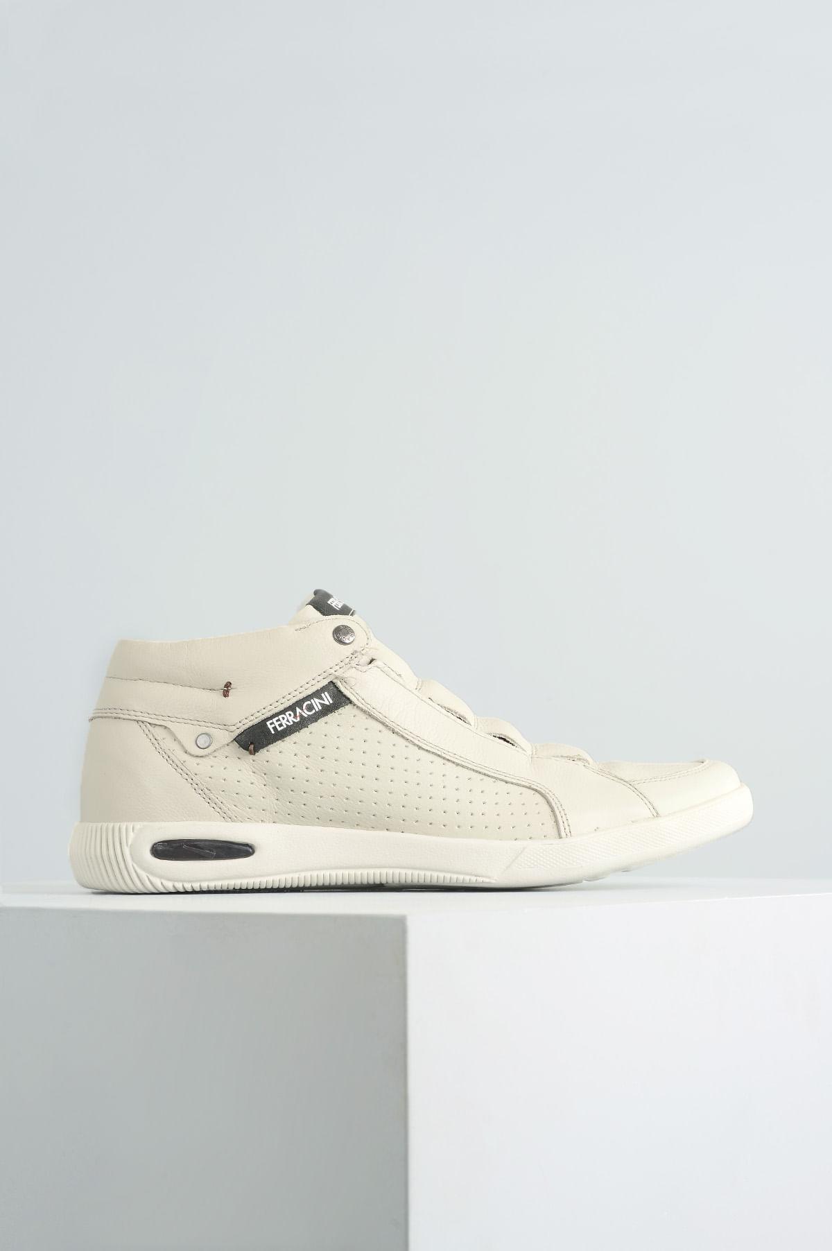 4d544a3b8 Sapatênis Masculino Ferracini Blady CR - OFF WHITE - Mundial Calçados
