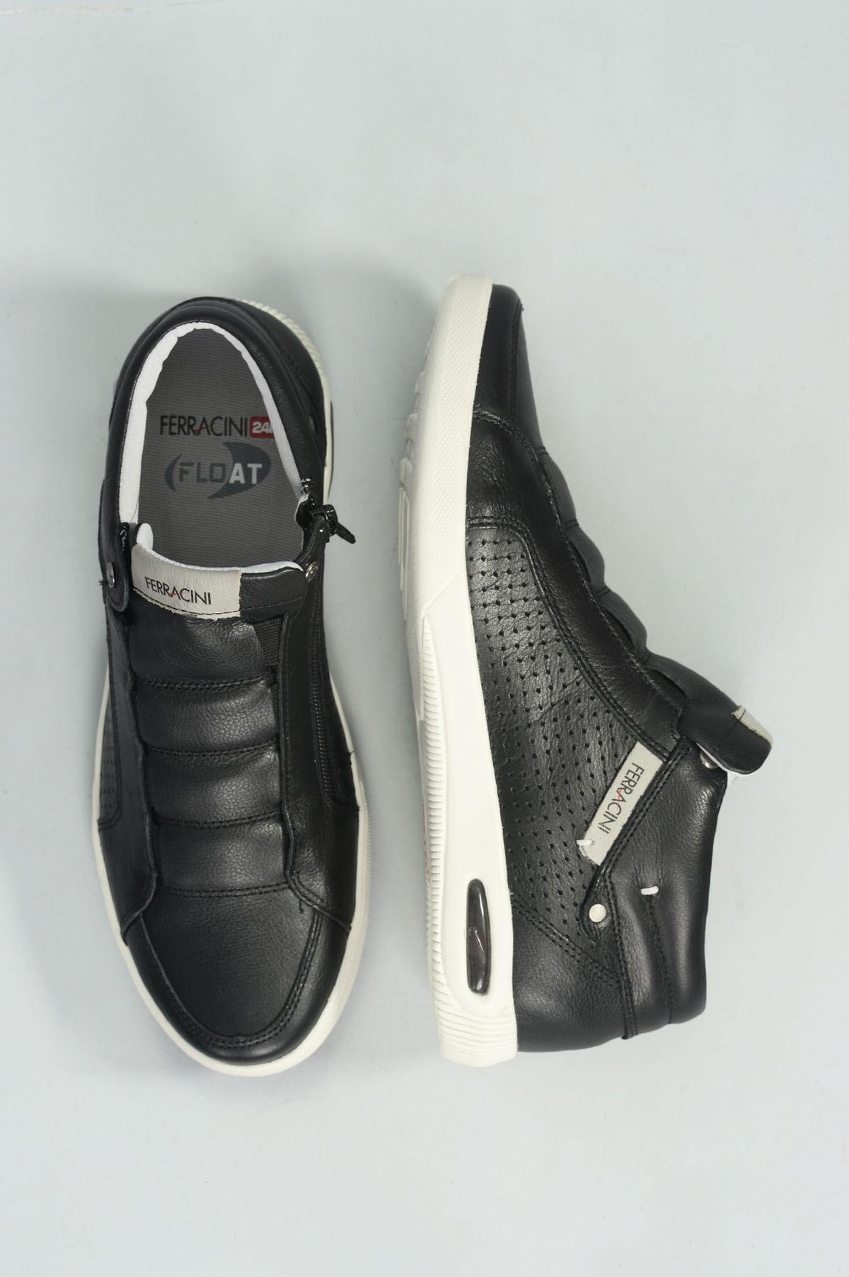7a0b10965 Sapatênis Masculino Ferracini Blady CR-PRETO - Mundial Calçados