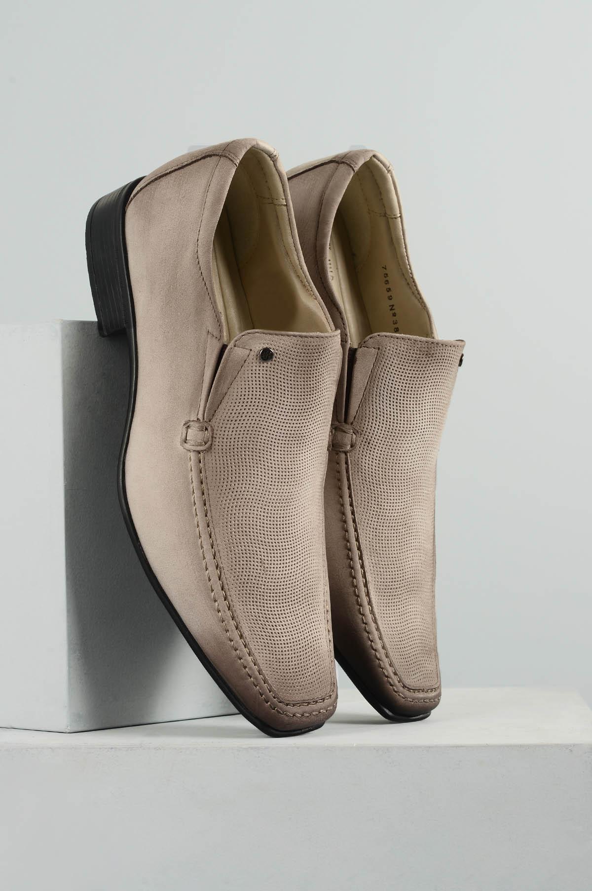 43f469584f Sapato Masculino Jota Pe Air Harbour CR - MARFIM - Mundial Calçados