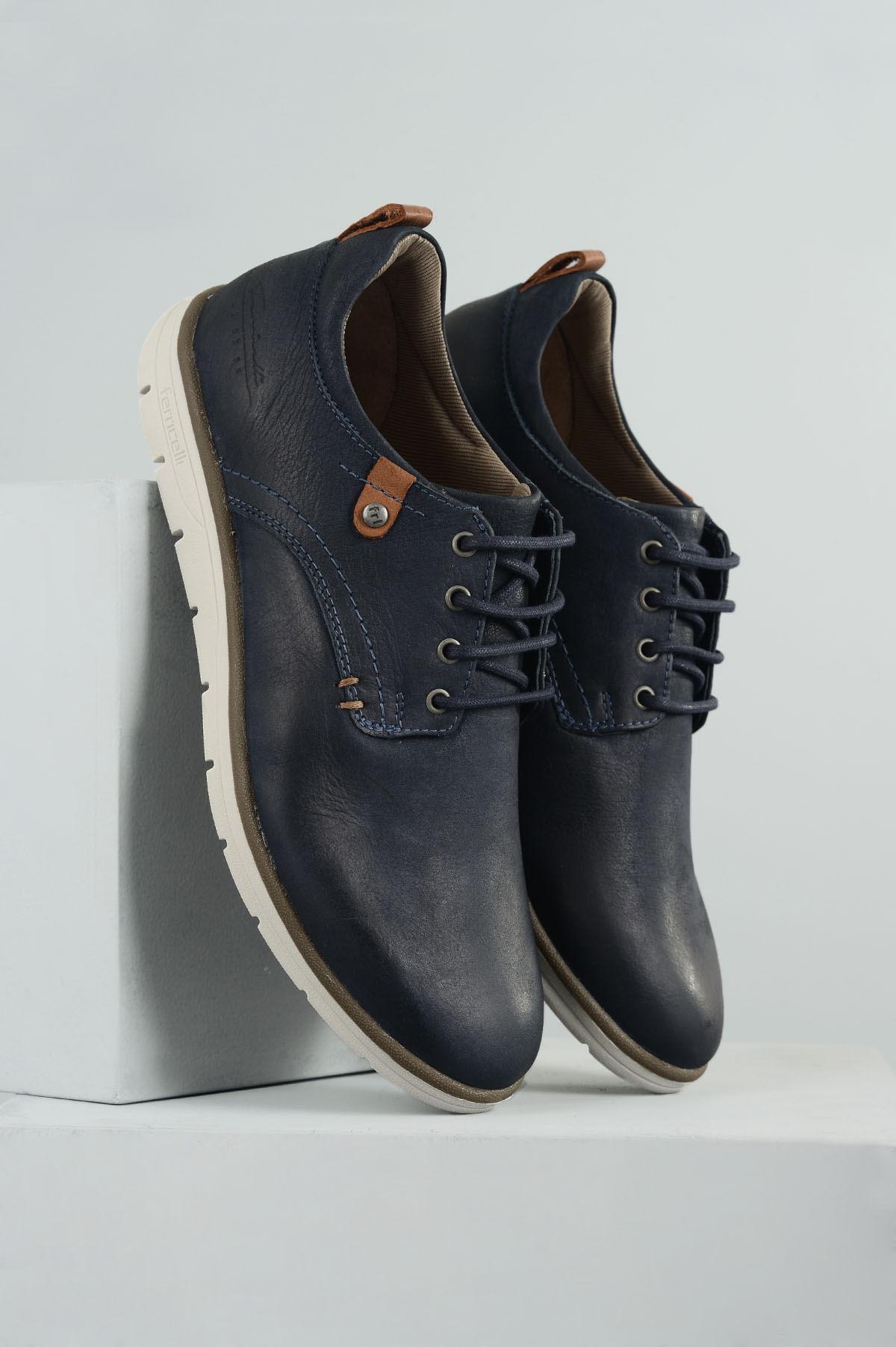 c4e5b6eec Sapatênis Masculino Ferricelli Rony CR-MARINHO - Mundial Calçados