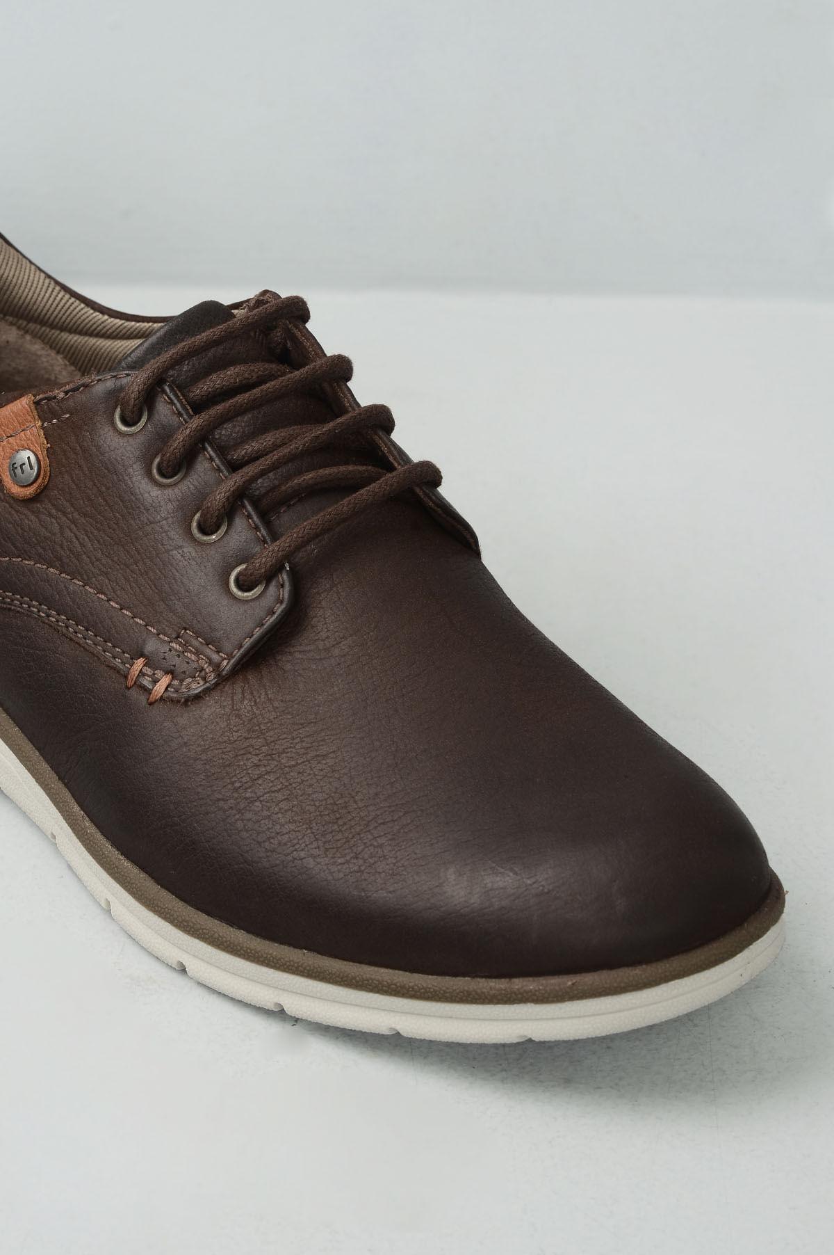 957fdbde5 Sapatênis Masculino Ferricelli Rony CR - CAFE - Mundial Calçados