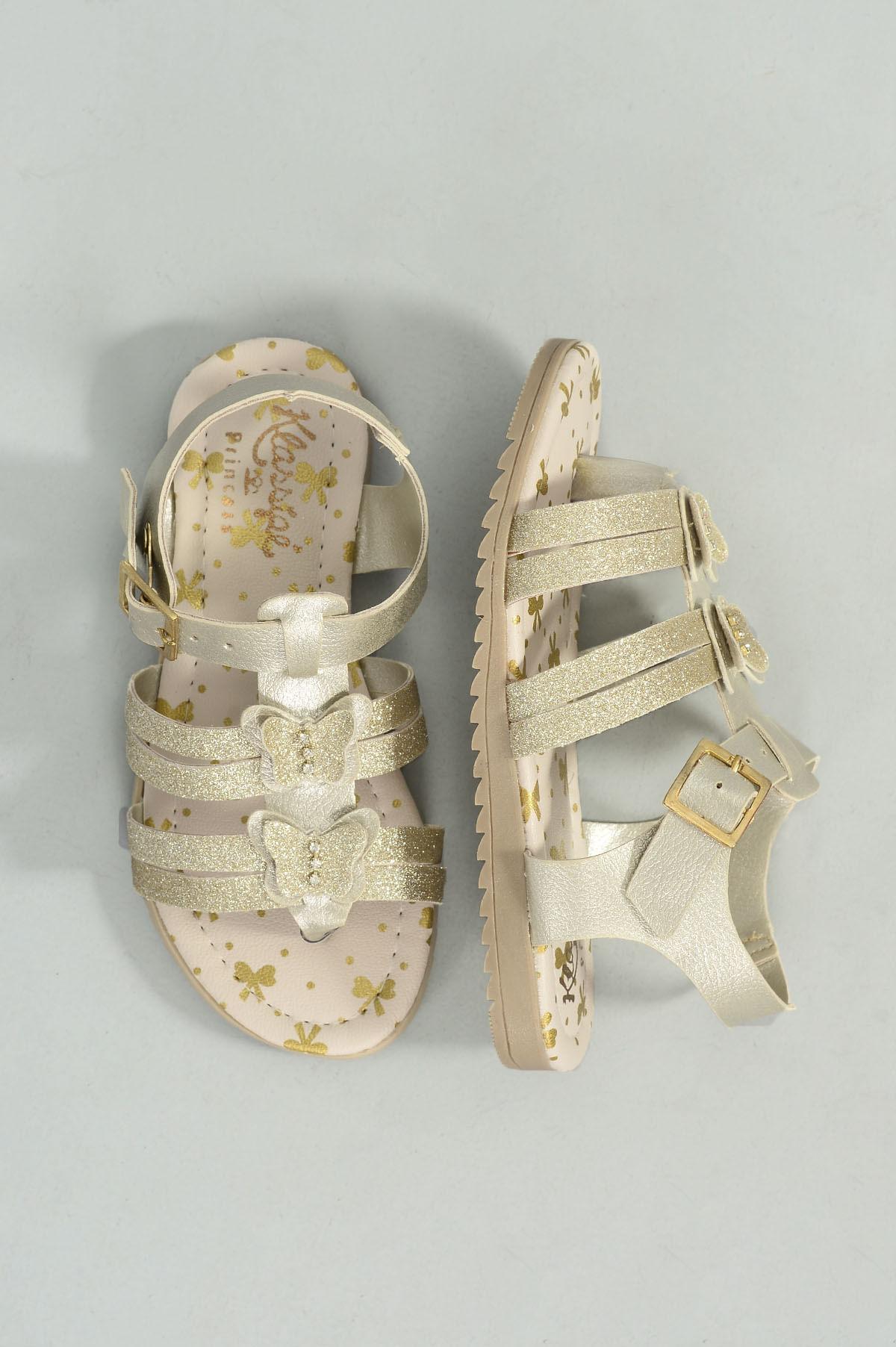 5f9e895a9 Sandália Infantil Julya Klassipé SINT - DOURADO - Mundial Calçados