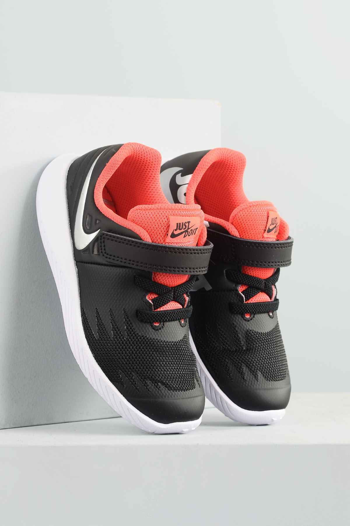Tênis Infantil Nike Star Runner JDI SINT - PRETO - Mundial Calçados 010699ba44695