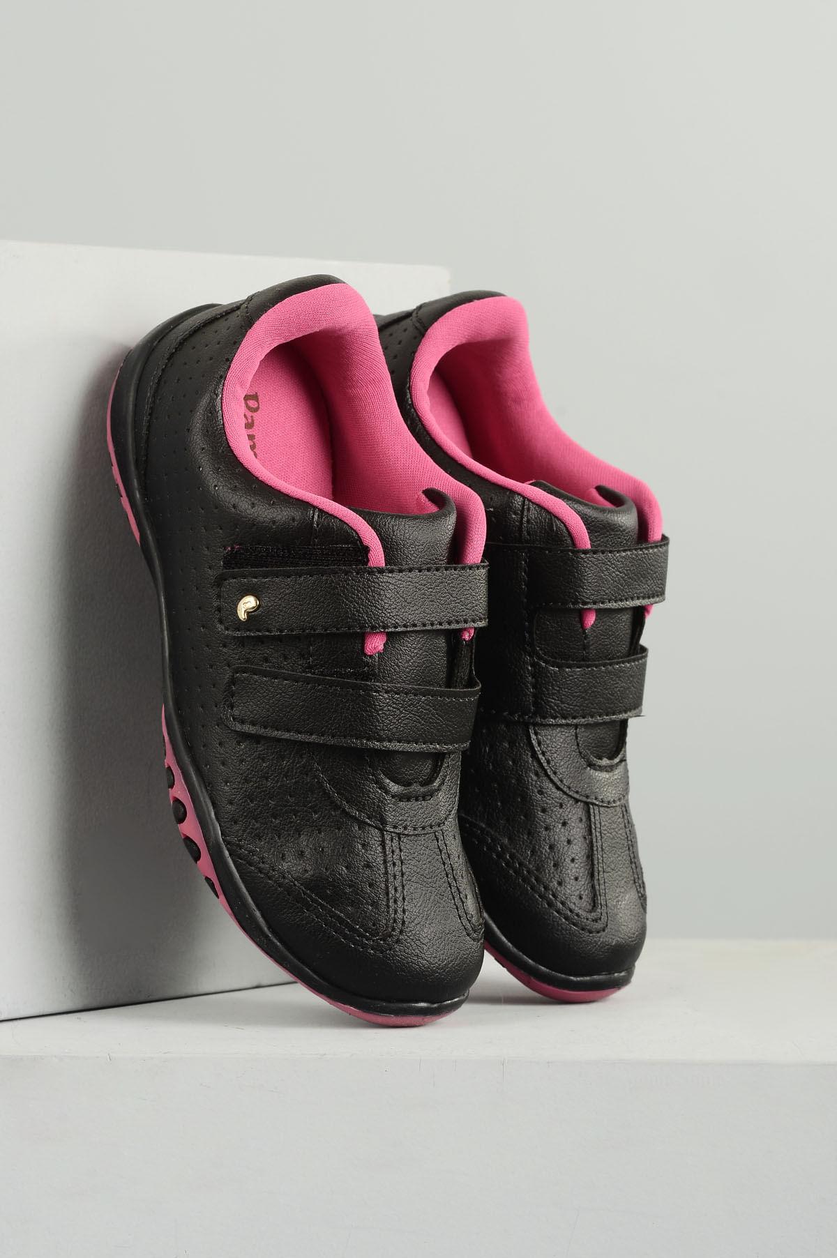 0c24976f6a1 Tênis Infantil Pampili Carine SINT - PRETO - Mundial Calçados