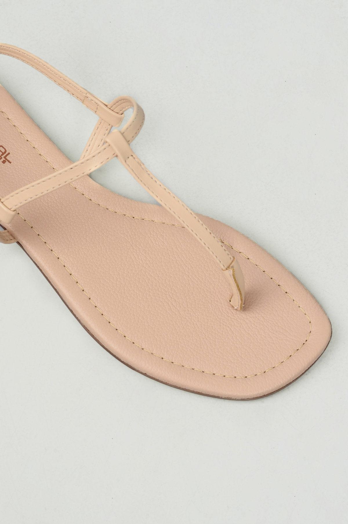 db4709a2a Sandália Feminina Rasteira Naty Mundial DIVERSOS NUDE - Mundial Calçados