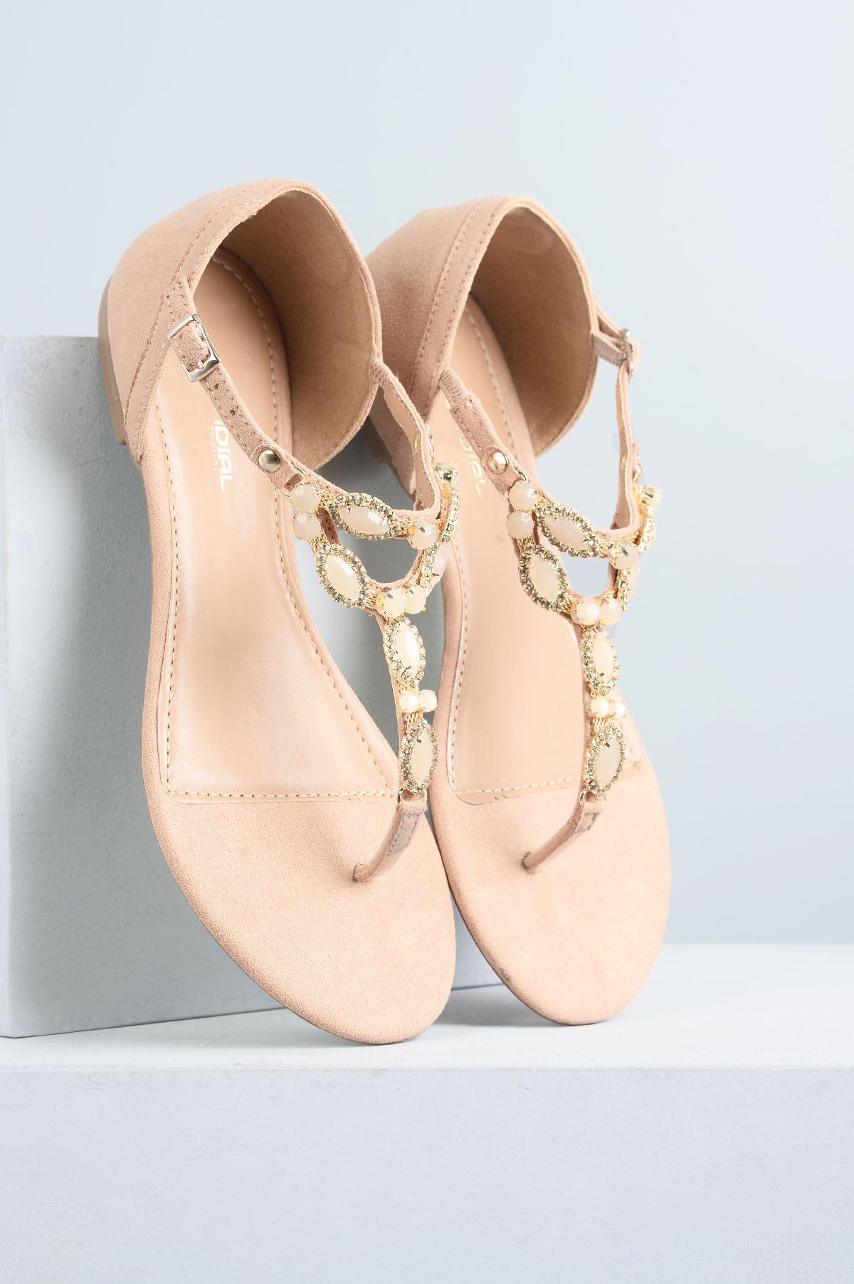 18989ecfb Sandália Feminina Rasteira Sefora Mundial CAM - ROSA - Mundial Calçados