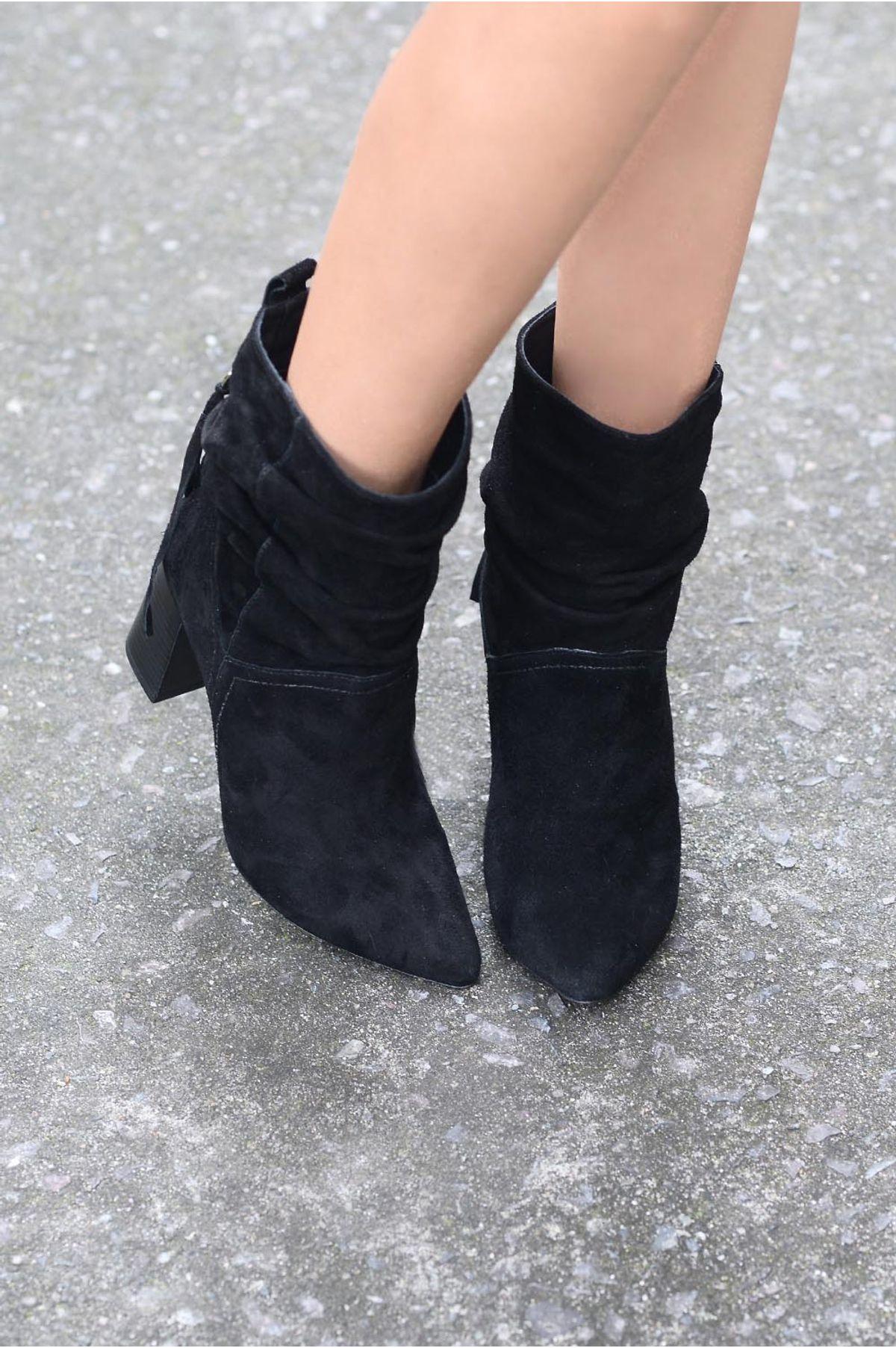 3df20b9f12 Bota Feminina Salto Alto Rhiana Mundial CAM - PRETO - Mundial Calçados