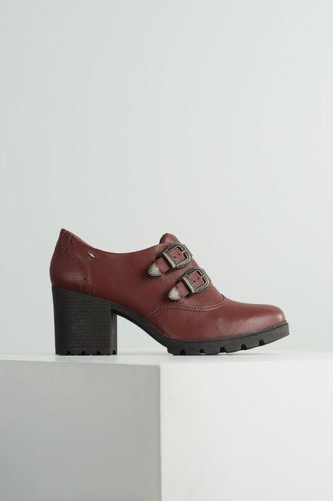 639ec908a0 Sapato Feminino Elyana Dakota SINT - VINHO - Mundial Calçados