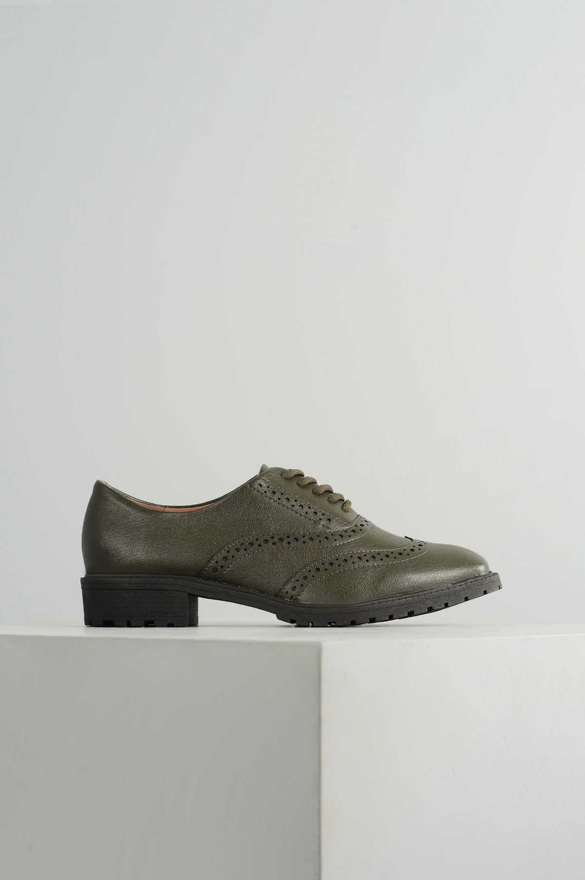 c9f3d4228c Oxford Feminino Philipa Vizzano SINT-VERDE - Mundial Calçados