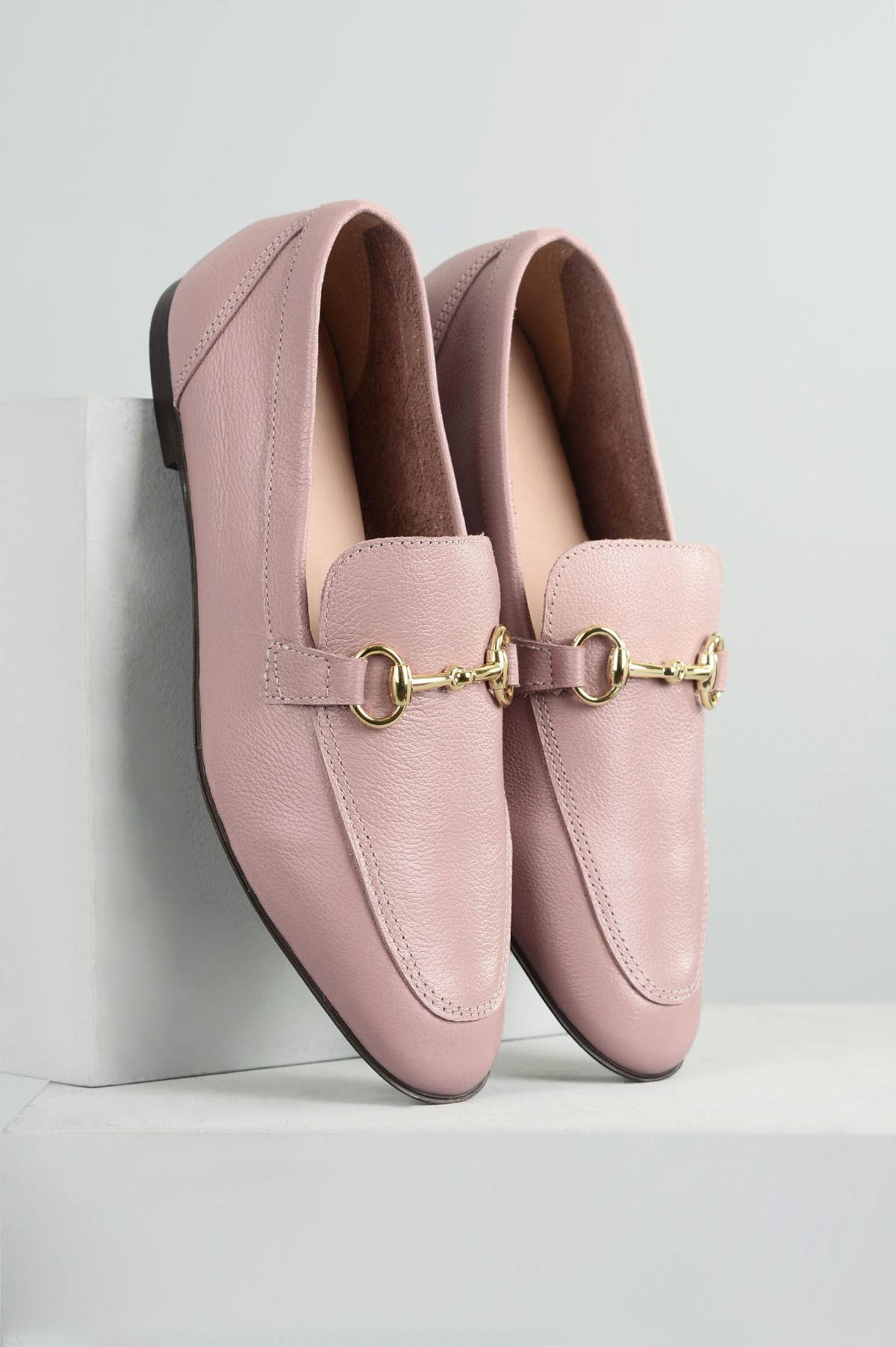 f899126306 Mocassim Feminino Milany Mundial CR - ROSA - Mundial Calçados