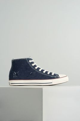27033ad2ef5 Tênis Converse Cano Alto All Star Chuck Jeans TEC - MARINHO