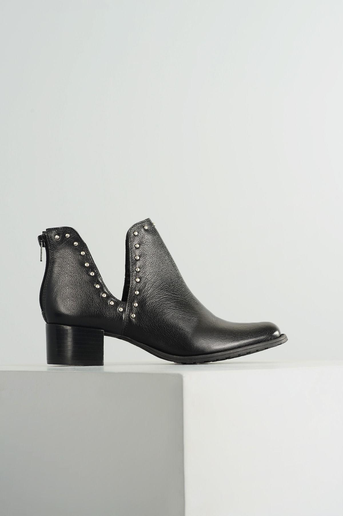 5beb70c0c2 Ankle Boot Feminino Cynthia Mundial CR-PRETO - Mundial Calçados