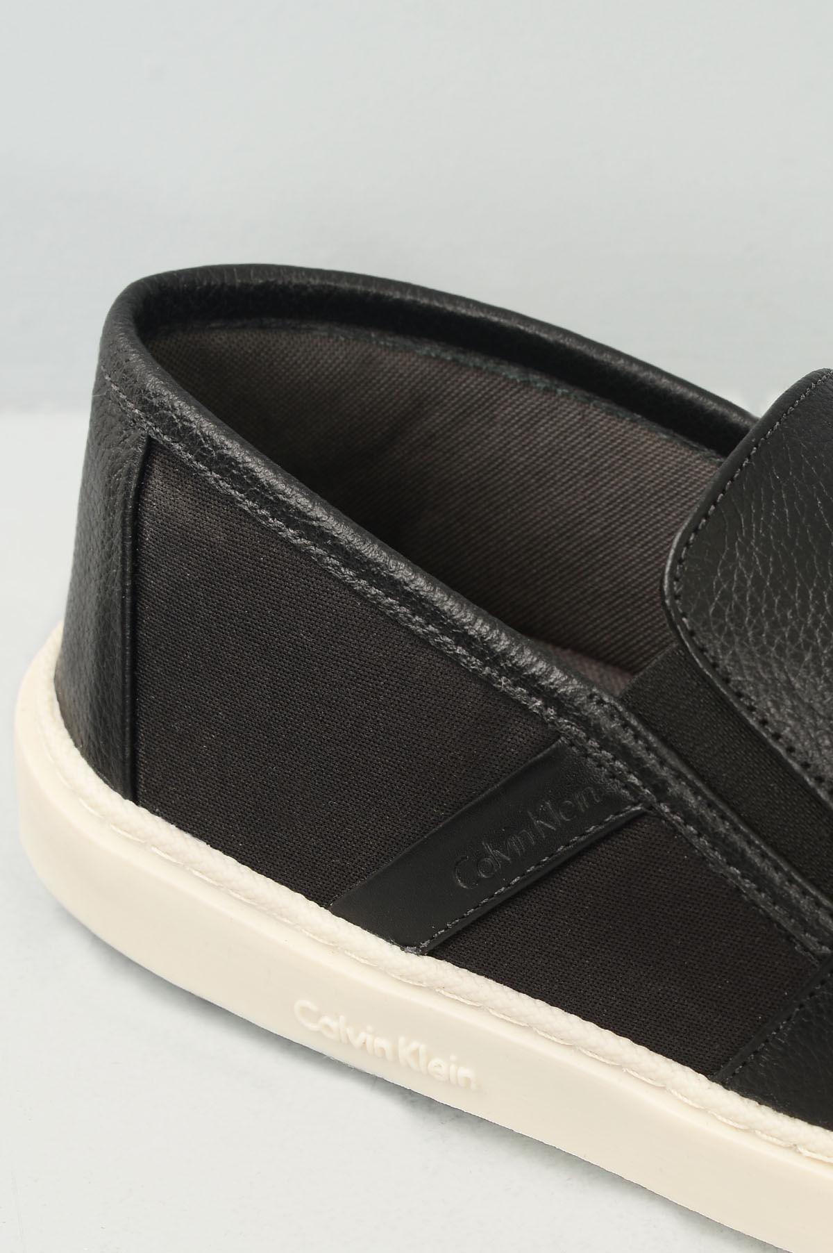 38cef8c7a3f Sapatênis Masculino Calvin Klein Olavo CR-PRETO - Mundial Calçados