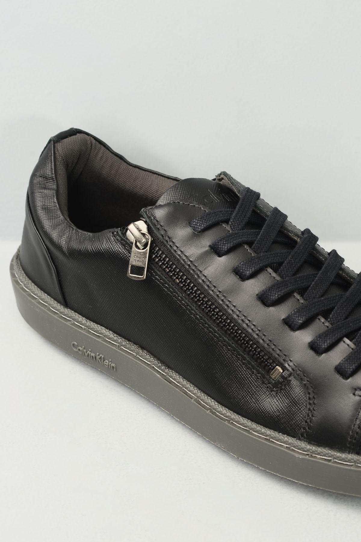 ccf08ecb6f7 Sapatênis Masculino Calvin Klein Vinicius CR-PRETO - Mundial Calçados