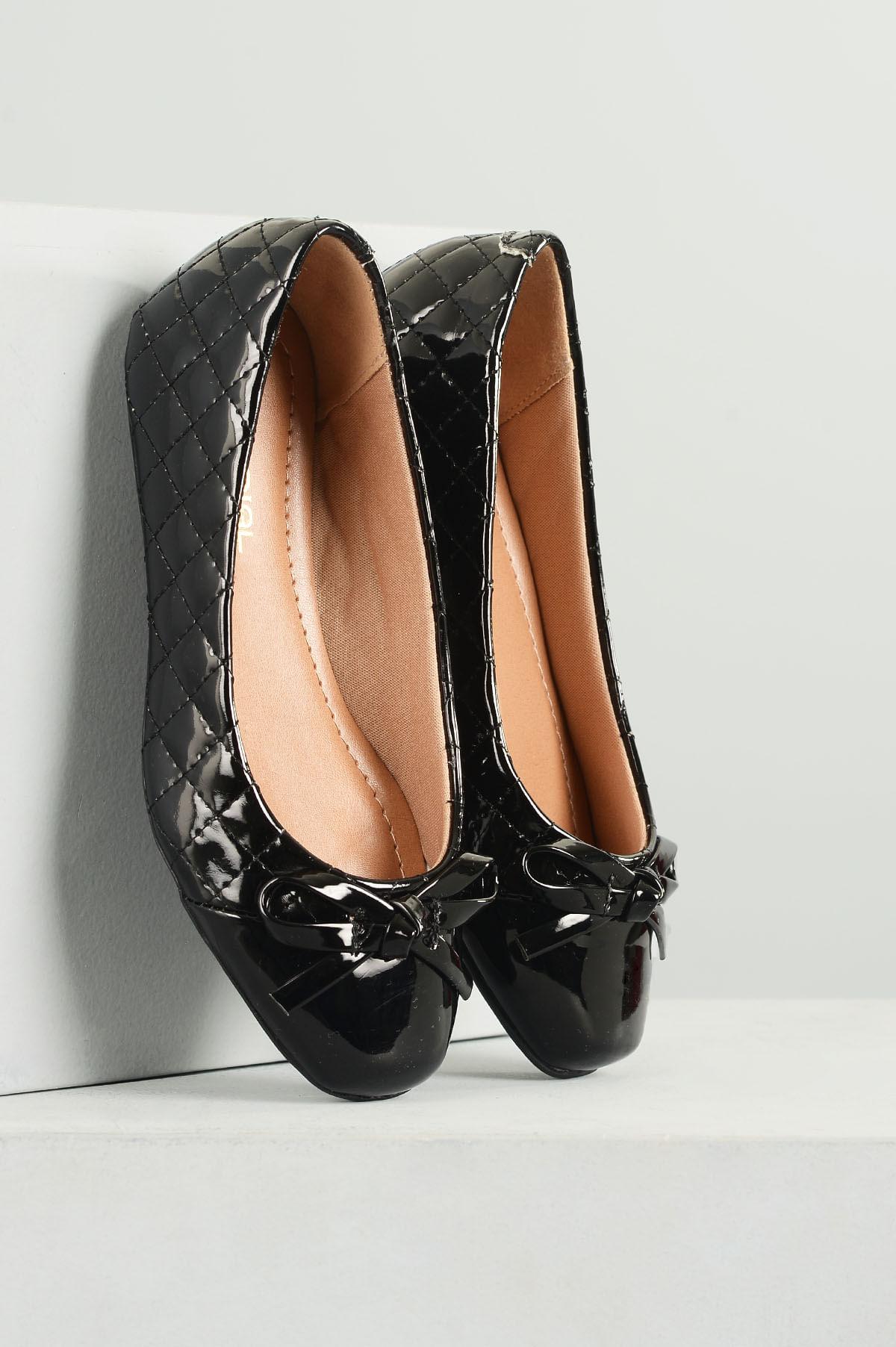 a58321277 Sapatilha Infantil Mariele Mundial VERNIZ PRETO - Mundial Calçados