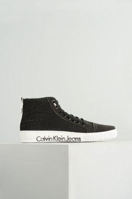 87f18c746d Sapatênis Masculino Calvin Klein Victor TEC - PRETO