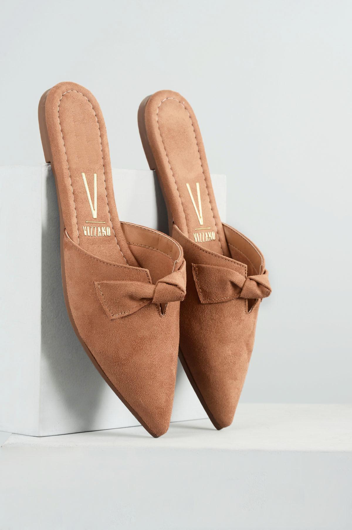 1ca6312f0 Mule Feminino Cindy Vizzano CAM - CAMEL - Mundial Calçados