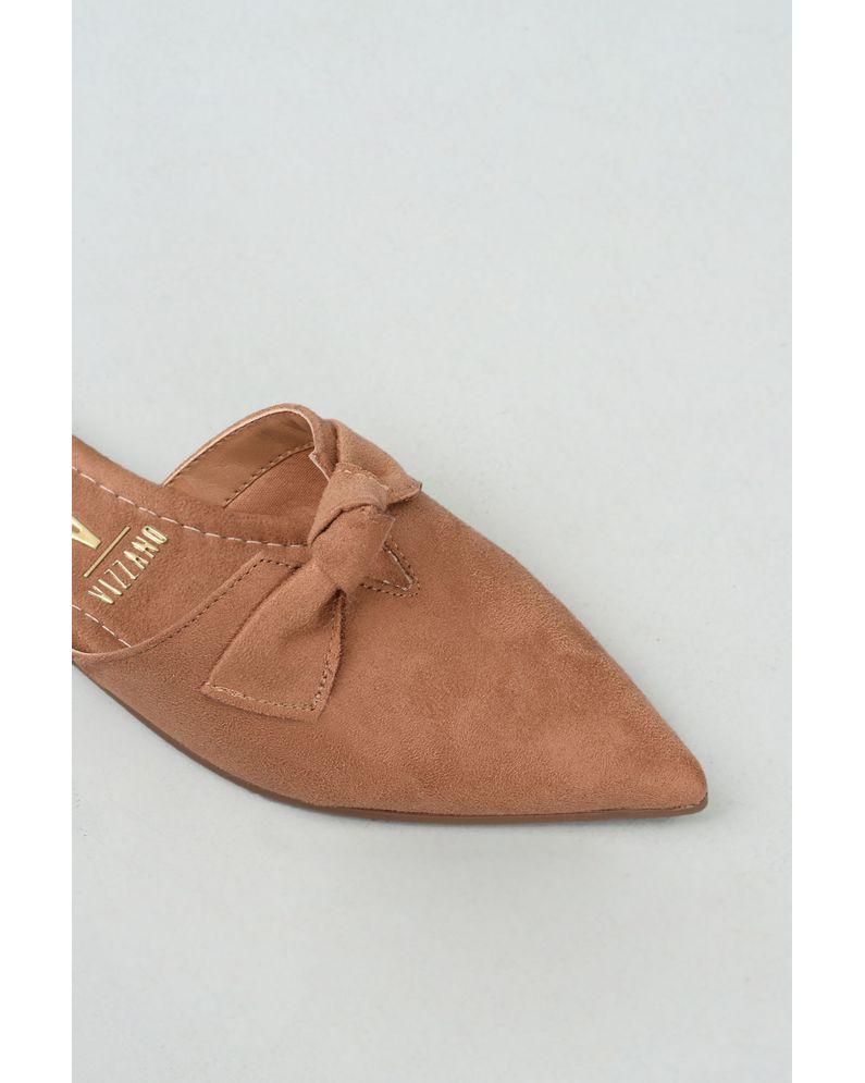 a980b9c30 Mule Feminino Cindy Vizzano CAM - CAMEL - Mundial Calçados