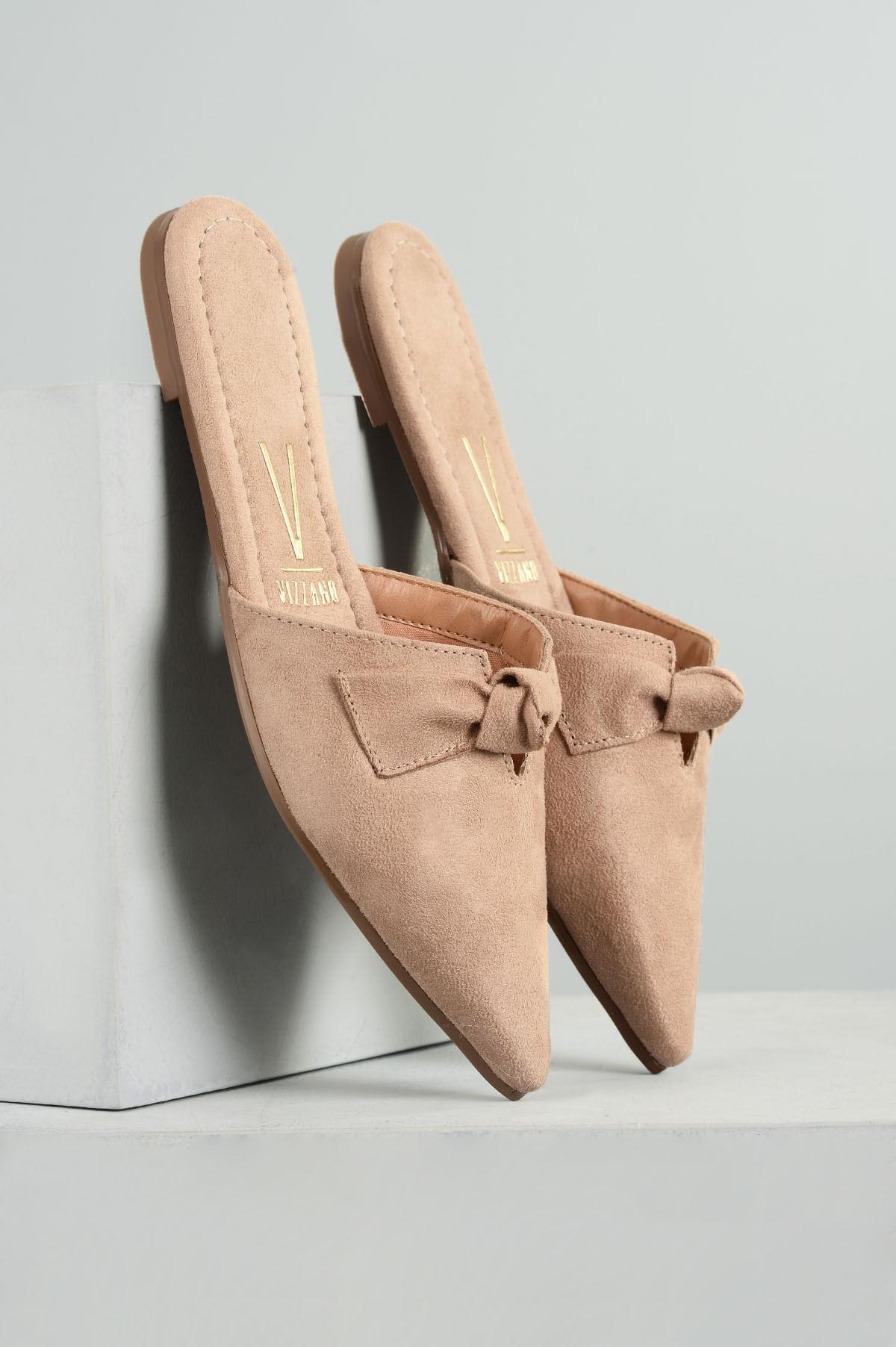 56720c7e6 Mule Feminino Cindy Vizzano CAM - BEGE - Mundial Calçados