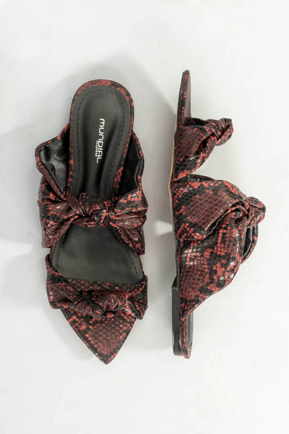 3ba4b1bd1 Chinelo Feminino Lorenza Mundial DIVERSOS - VERMELHO - Mundial Calçados