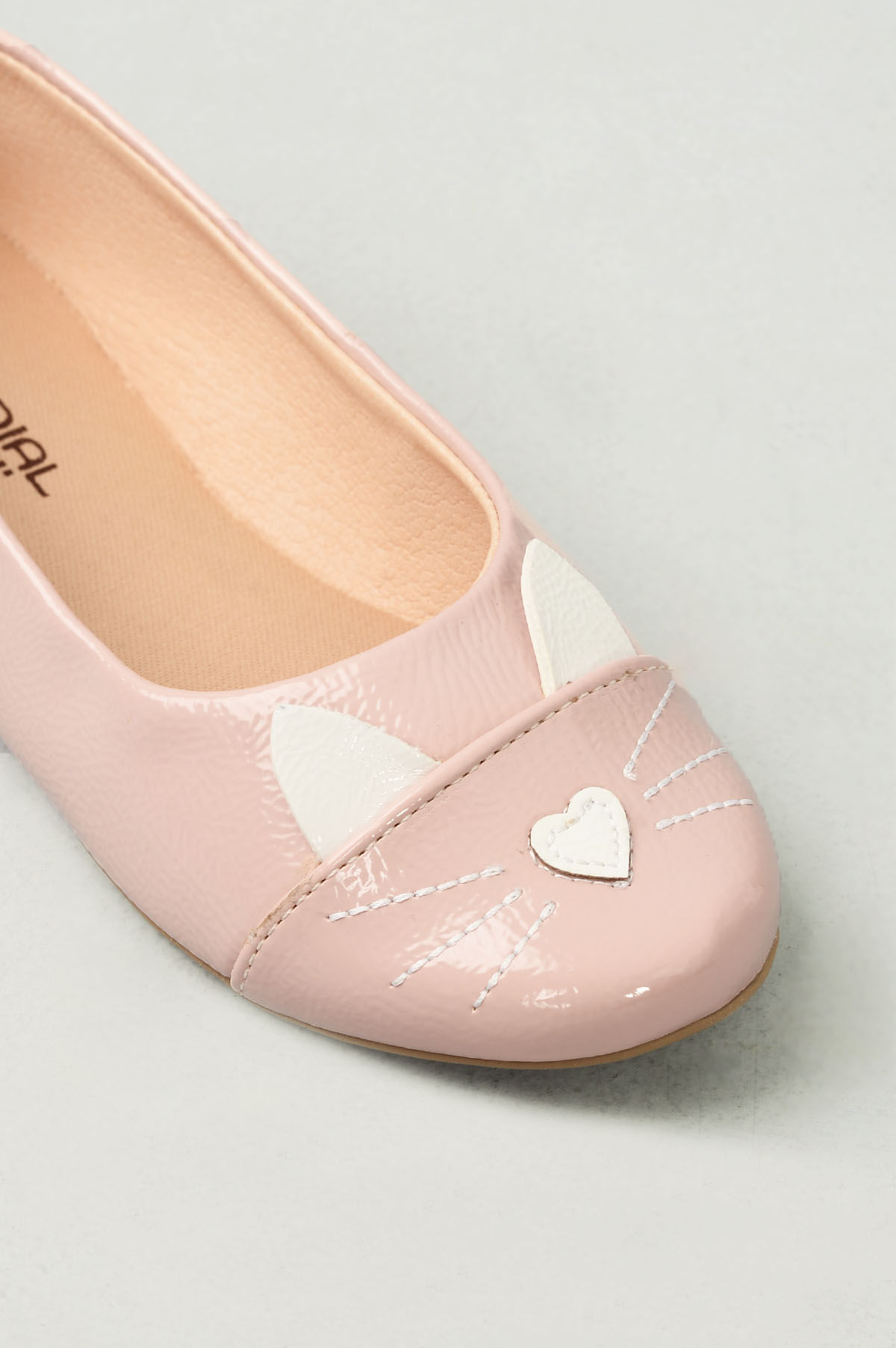 90e2fd1d6 Sapatilha Infantil Julye Mundial VERNIZ - NUDE - Mundial Calçados