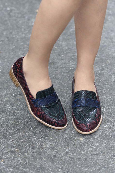 98e76a9e35 Mocassim Feminino Ruth Mundial DIVERSOS - COLORIDO - Mundial Calçados