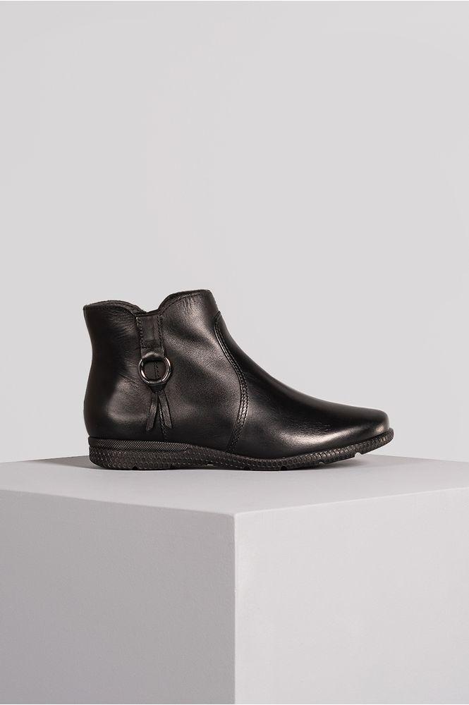 1_Ankle_Boot_Flat_Trey_Bottero_CR_Preto