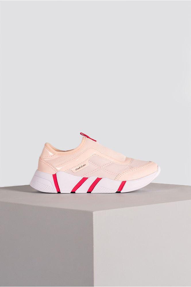 1_Tenis_Infantil_Sneaker_Majey_Dakota_Pink_Cats_TEC_ROSA